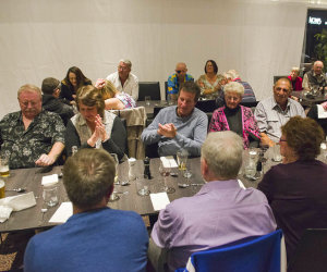 Photo of Blind Golf Association Members Dinner